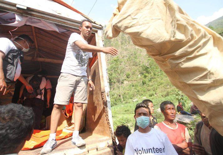 Aide d'urgence Népal <br><span>2015</span>