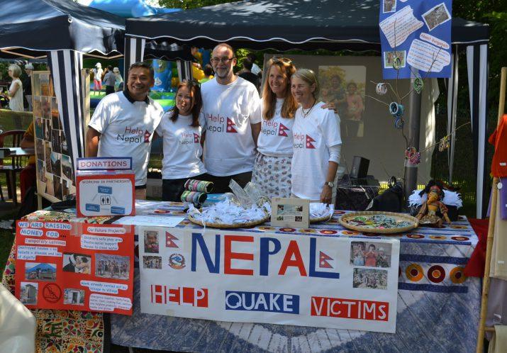 Stand Népal, kermesse Ecolint <span>2015</span>