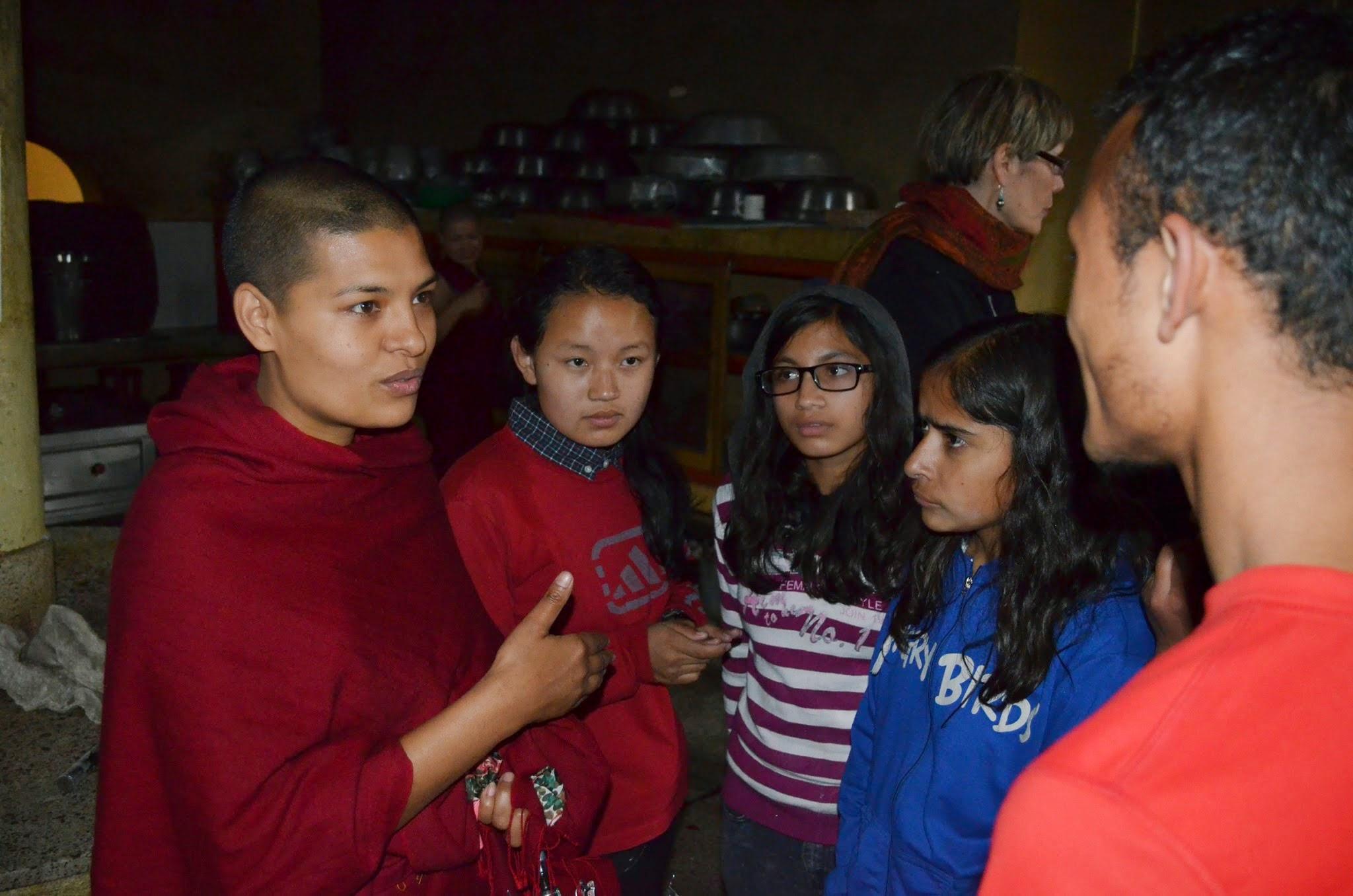 Visite du monastère Kopan <span>avril 2015</span>